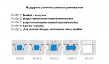 Ручной запайщик лотков и пакетов трейсилер DMP-430A